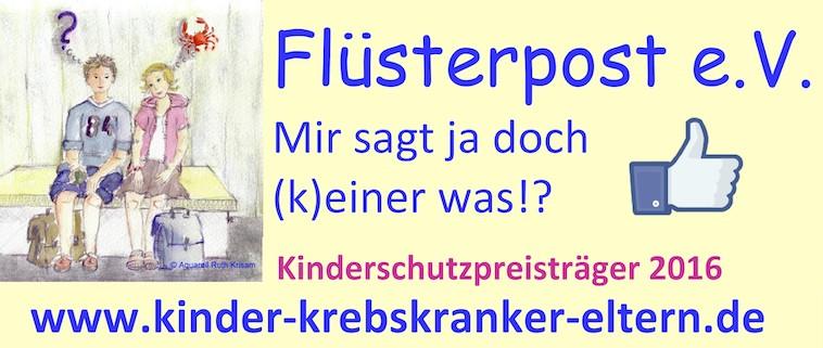 """Mein Praxissemester bei dem Verein """"Flüsterpost – Unterstützung für Kinder krebskranker Eltern"""""""